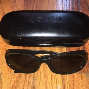 Gucci Thin Sunglasses